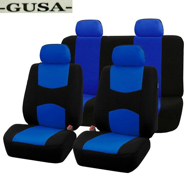 9 pçs tecido assento do carro capas de assentos automóvel acessórios para kia cerato sorento sportage alma, byd f3r g3 g6 l3 s6 f6 2006 2007