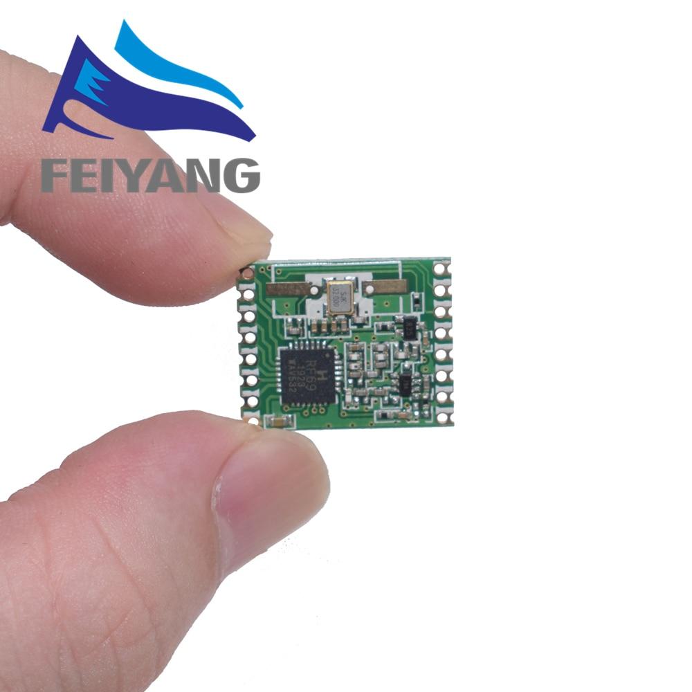 1PCS RFM69HW 868Mhz/433Mhz/915Mhz + 20dBm HopeRF Wireless Transceiver 868S2 Module For Remote/HM