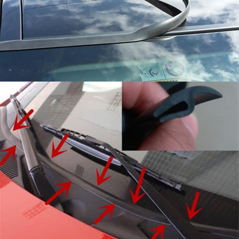 Лобовое стекло автомобиля панели литье уплотнительная полоса стикер для Seat Ibiza 6L 6J Leon FR Altea Renault Megane 2 3 Duster Clio Logan Trafic