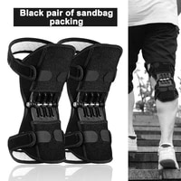 joint support knee pads breathable non slip power lift joint knee pads powerful rebound spring force knee booster leg protector