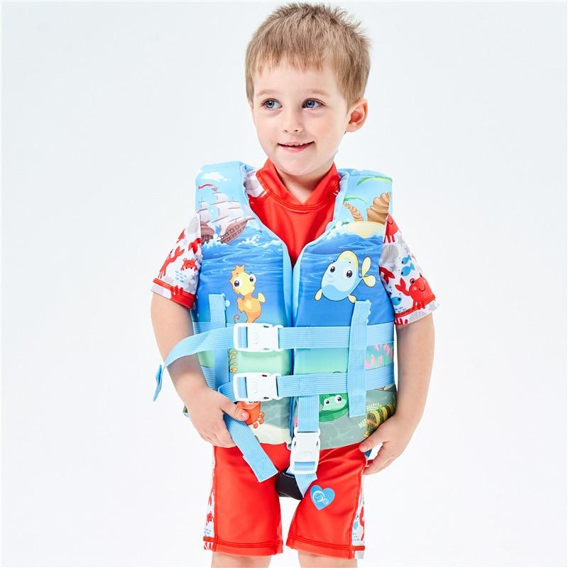 Chaleco salvavidas para niños, chaleco salvavidas ajustable para deportes acuáticos, surf, natación, niños, chaleco de seguridad, chaleco salvavidas