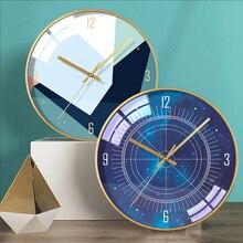 Nordic Large Wall Clock Modern Design Luxury Living Room Bedroom Big Wall Watch Mechanism Kitchen Pendule Mural Home Decor SC304