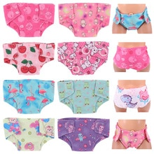 Doll Clothes Pepa Pig George Cartoon Panties&Underwears For 18 Inch American Doll&43Cm Born Doll For