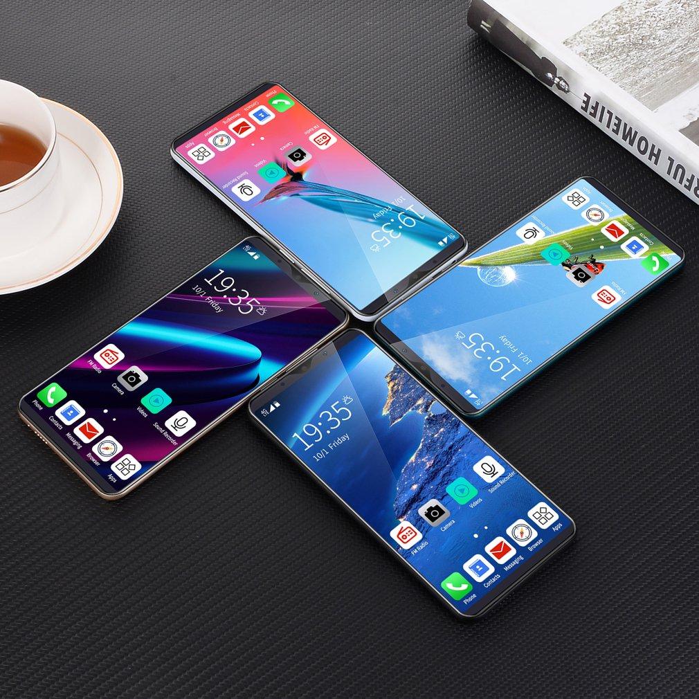 5.72 Inch S10 Full Screen Smartphone General Straight Profile Dual Card Dual Standby Real Fingerprint Unlock Phones enlarge