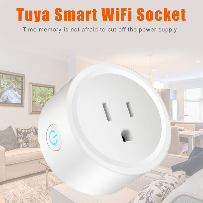 2019 gran oferta WiFi enchufe inteligente teléfono móvil aplicación remota Control temporizador seguro para el hogar S7 #5