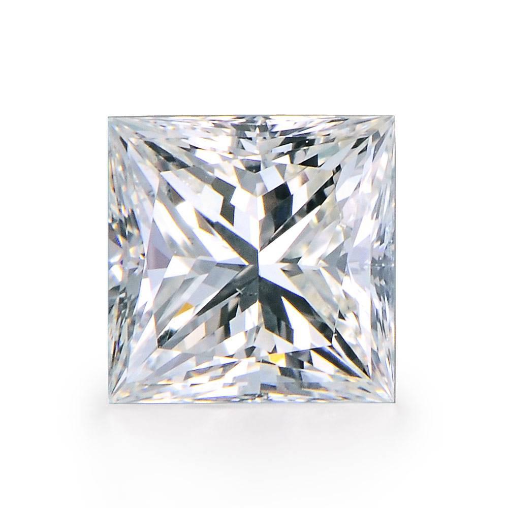 Prueba positiva VS1 F color 9*9mm prueba positiva marca suelta princesa brillante diamante moissanite suelta piedra preciosa princesa