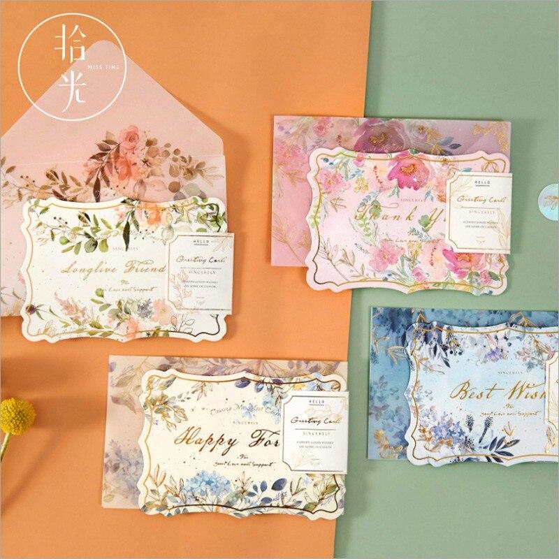 Подарочные открытки из серной кислоты, подарочные крафтовые конверты для приглашений на свадьбу, письмо, Рождество, открытки на день рожден...