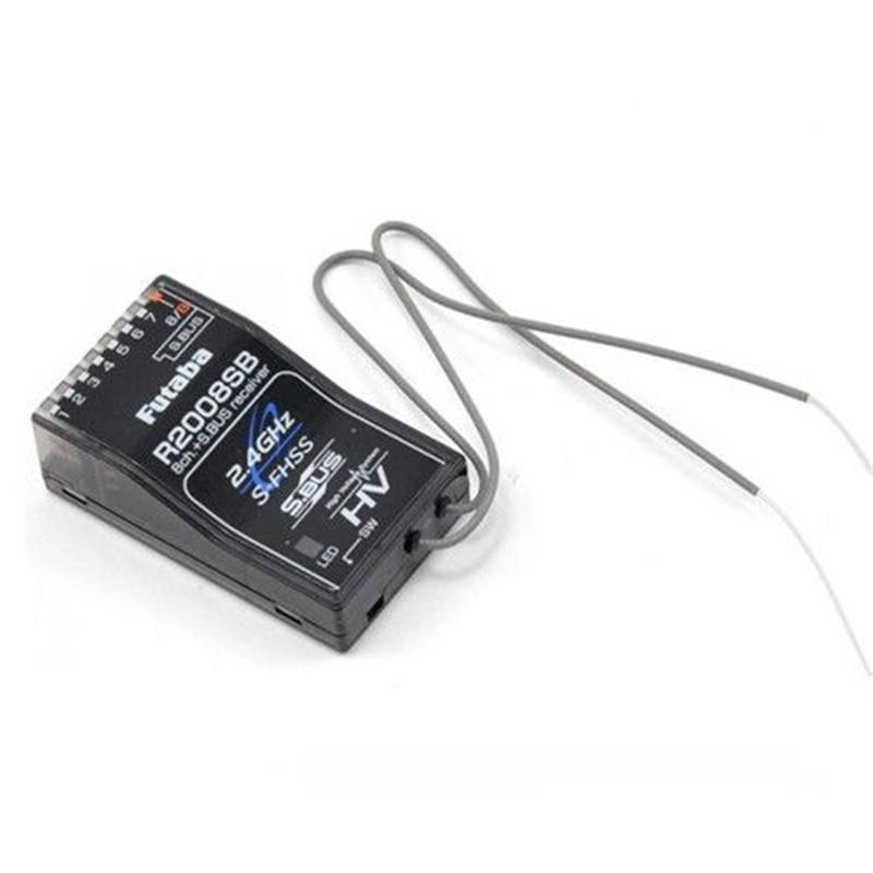 Futaba R2008SB 8-channel 2.4G HV receiver 2.4G S-FHSS HV S.BUS receiver compatible T18MZ T8J T6J remote control FPV Racing