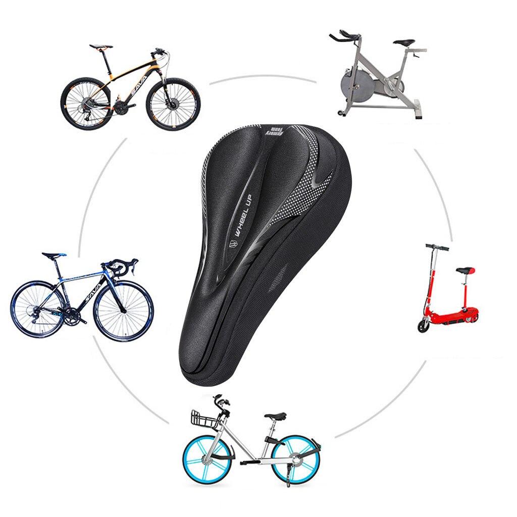 Asiento Universal de bicicleta asiento suave duradero cómodo asiento para bicicleta asiento Universal impermeable en existencia bicicleta