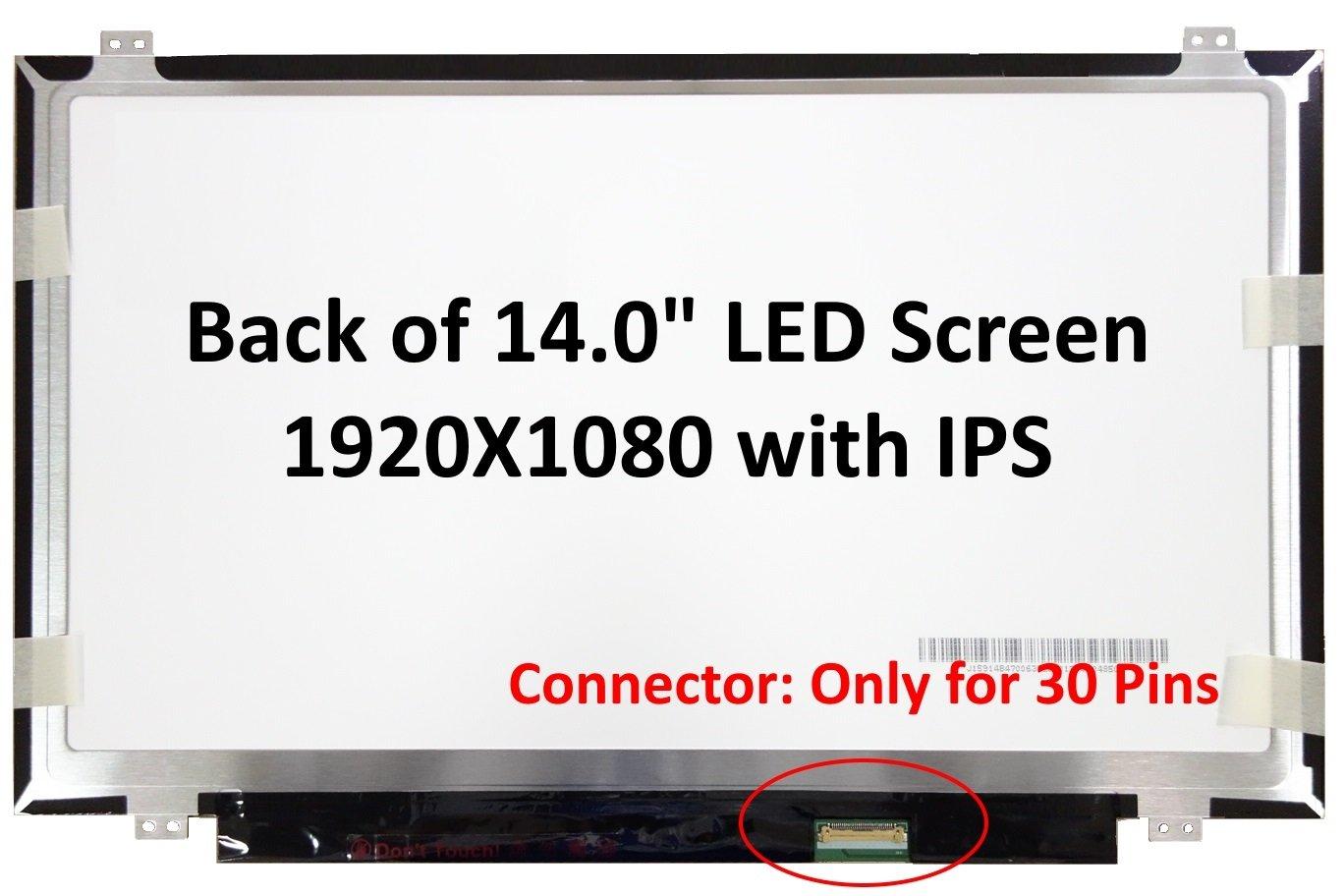 "Nuevo 14,0 ""IPS FHD (1080P) Laptop LCD LED de reemplazo de pantalla/Panel Compatible para Acer Swift 3 SF314-51-3632/ SF314-51-36R6"