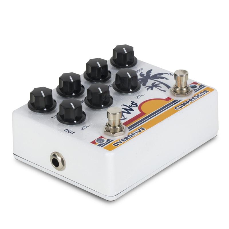 Caline DCP-05 KEY WEST Compressor Overdrive Effect Pedal Guitar Accessories Dual Guitar Pedal enlarge