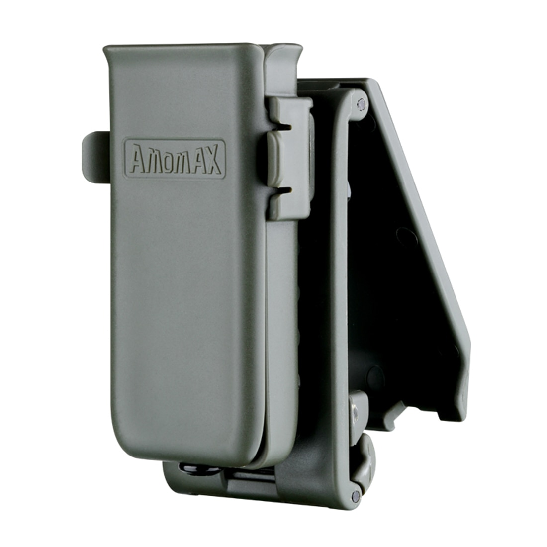 Amomax bolsa de una sola revista táctica para Universal 9mm, .40, .45 calibre revista sola o doble pila