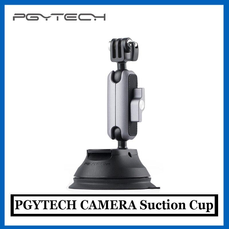 PGYTECH عمل كاميرا شفط كأس ل أوزمو عمل Gopro سيارة مص القرص الزجاج Gimbal Gopro بطل 9 Insta360 واحد X2