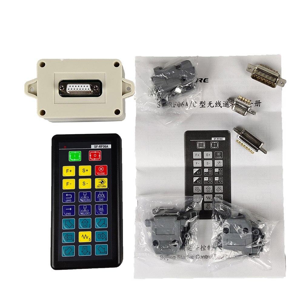 SF-RF06A التحكم عن بعد لاسلكية SF-RF06C SF-2300S/SF-2310S/SF-2100C/SF2100S/C-QG آلة قطع البلازما لهب نظام التصنيع باستخدام الحاسب الآلي