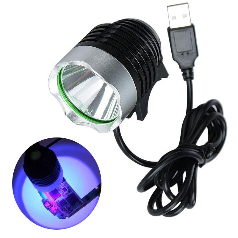USB UV Sterilizer Ultraviolet light Green Oil Glue Curing Lamp Dryer LED Ultraviolet Light for Sterilization Phone Circuit Board