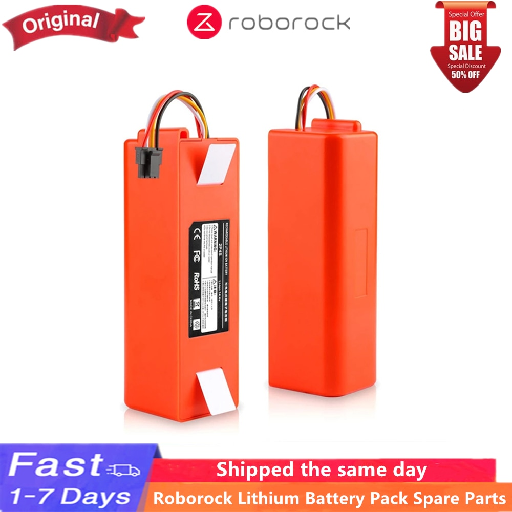 Brand new original universal accessories lithium battery pack 5200mAh, suitable for Roborock S7 S70 S75 accessories