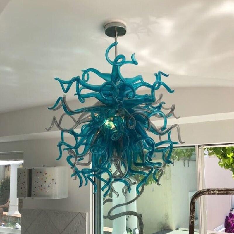 مصباح مورانو بتصميم إيطالي ، تصميم حديث ، على الطراز الهندي ، فن زخرفي