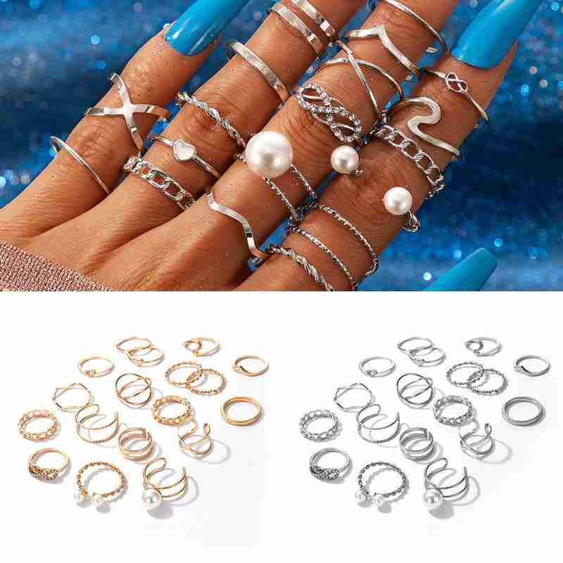 2021 Slytherin Punk Ring New Fashion Ring Halloween Jewelry for Women Rings Jewelry On Phalanx Anel Masculino Rings Set  - buy with discount