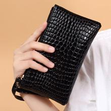 Women 's Coin Purse PU Leather Fashion Lady Wristlet  Long Money Bag Zipper Wallets Cards ID Holder