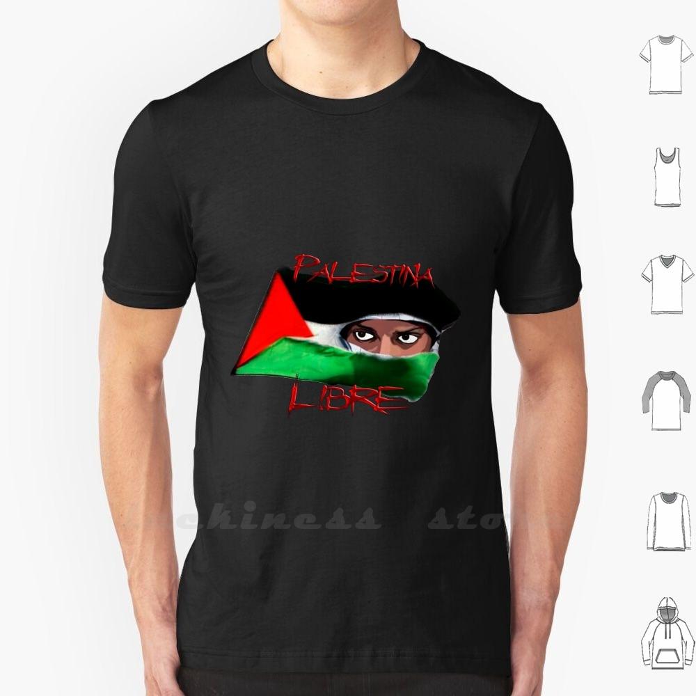 Camiseta Palestina gratis Ringer sin algodón Palestina libertad derechos humanos lucha guerra no a la guerra matadero política