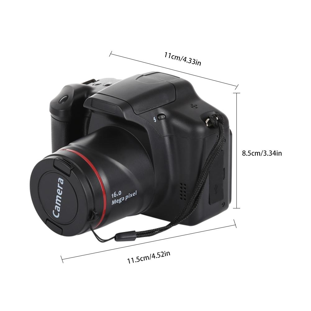 Portable 1080P Digital Camera Camcorder Full HD 1080P Video Camera 16X Zoom AV Interface HD Video Recorder Photo Camera enlarge
