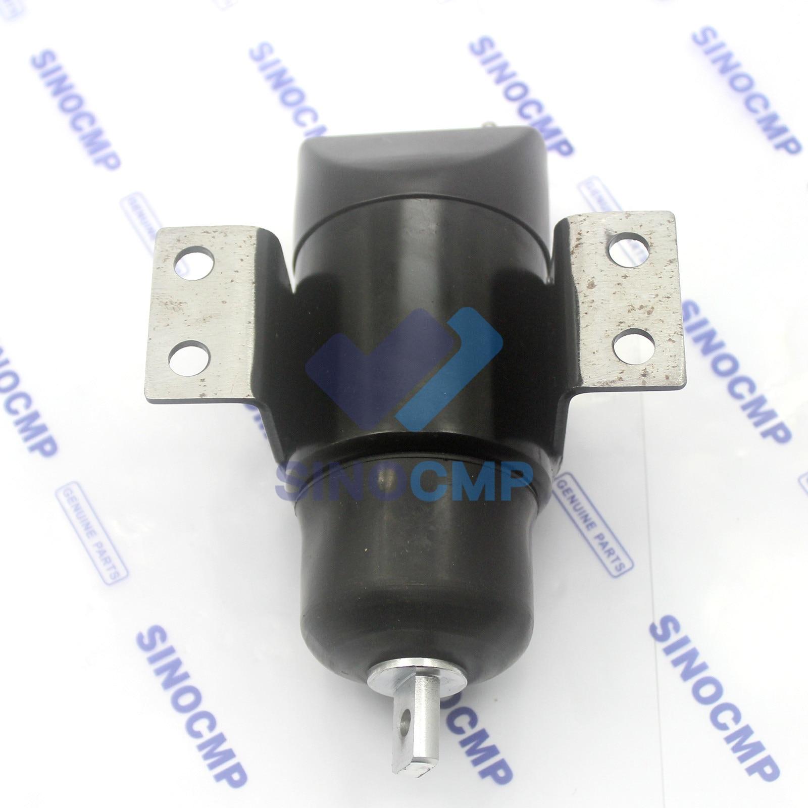 053400-7100 24 فولت إغلاق الوقود الملف اللولبي قطع الملف اللولبي لمحرك حفارة قطع غيار ما بعد البيع ،