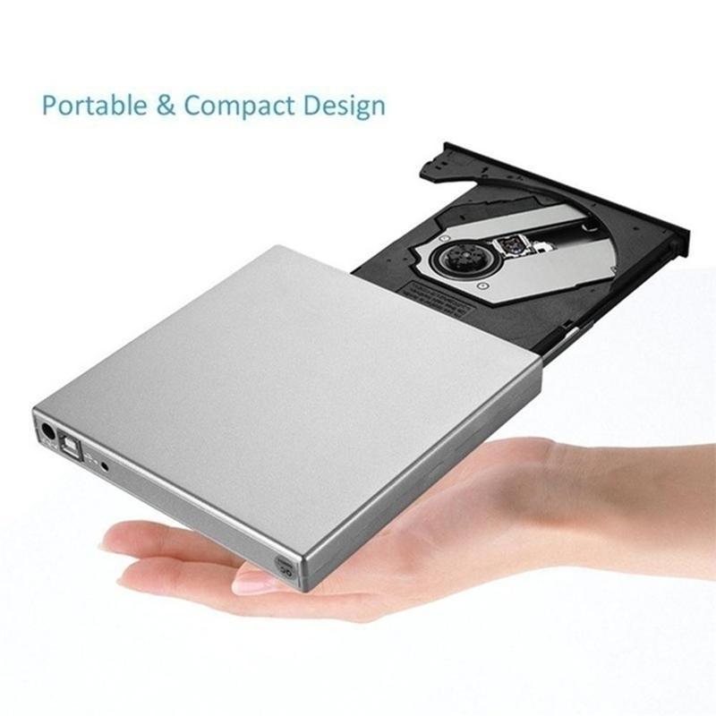 1Pc external drive USB 3.0 optical disc drive BD-Rw player drive Blu-ray optical CD/DVD Portatil mobile burner DVD burner M2N6