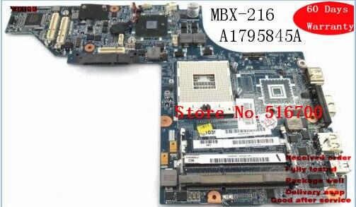 A1795845A для Sony Vaio VPCS1 материнская плата для ноутбука rPGA 989 MBX-216 Протестировано DAGD3AMBCC0