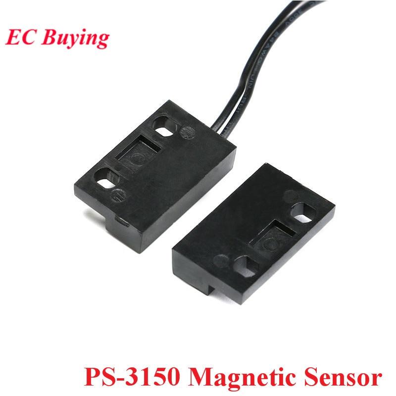 PS-3150 нормально открытый магнитный датчик приближения геркон переключатель для двери оконные контакты 30 см провод кабель индуктивности Расстояние 1-40 мм