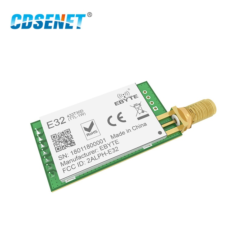 10PCS LoRa SX1278 SX1276 433MHz Module Transmitter Receiver 8000m E32-433T30D-V2.0 UART 433 MHz 1W Wireless rf Transceiver enlarge