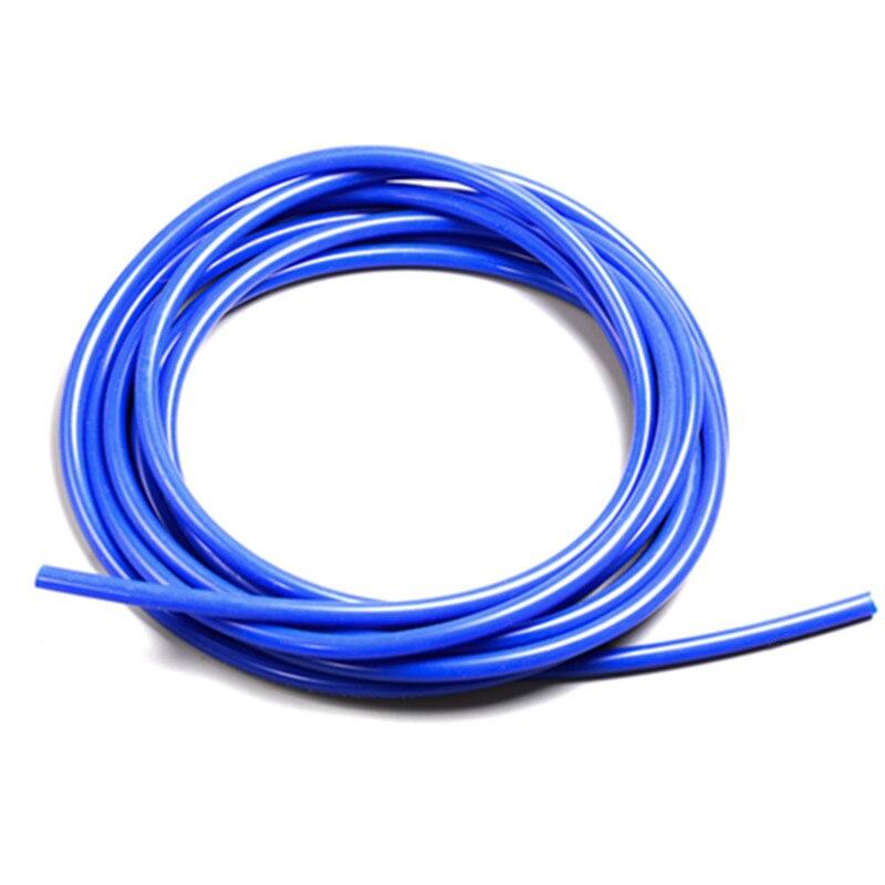 """5M de longitud 5/32 """"(4mm) manguera de silicona de vacío acoplador de tubo Turbo"""