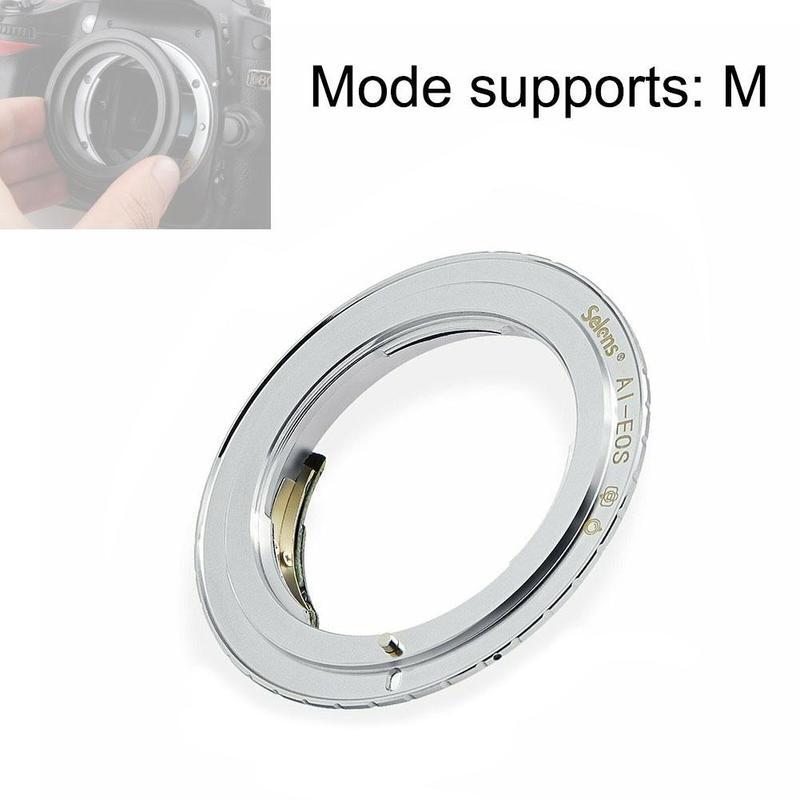 Adaptador de anillo inteligente para cámara, indicador de enfoque de luz verde...