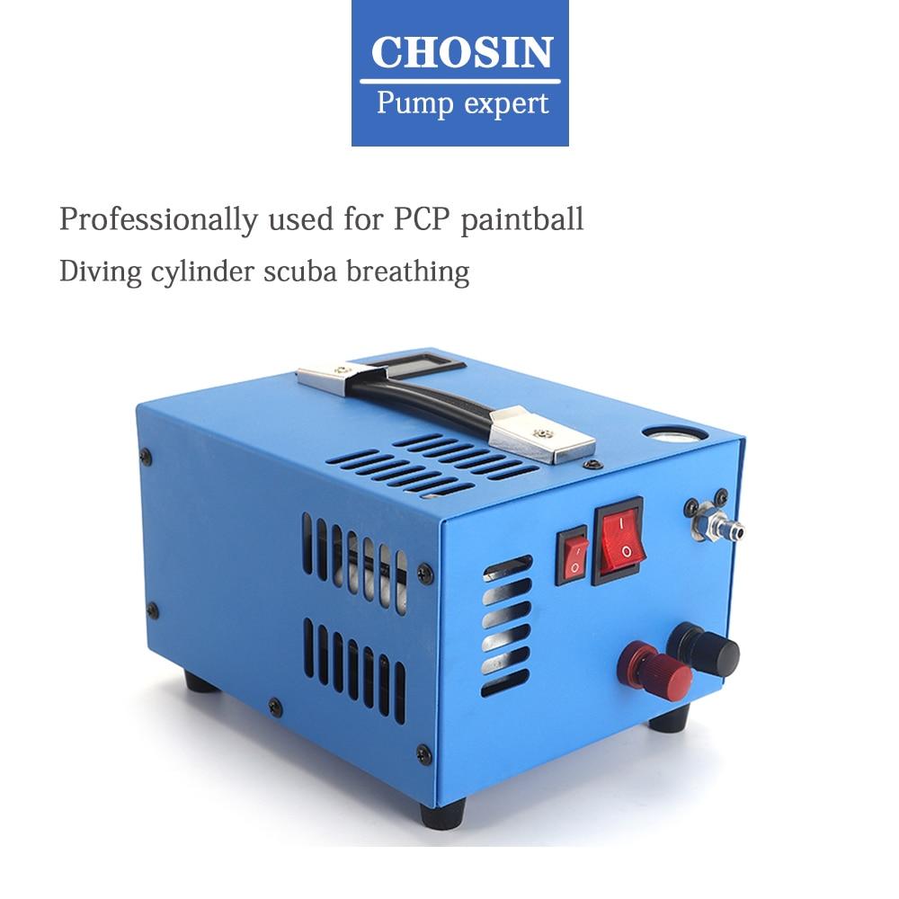 ضاغط هواء عالي الضغط ، 30 ميجا باسكال ، 4500 رطل لكل بوصة مربعة ، 300 بار ، 12 فولت ، لكرات الطلاء والغوص ، مع محول 220 فولت/110 فولت