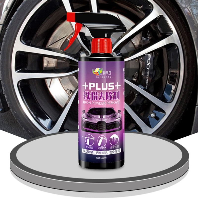 Auto Care Spray Cleaning Glass Coating 500ml Cleaner Liquid Car Wheel Rim Cleaning Agent Car Wash Rim Care недорого