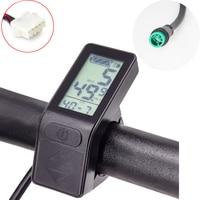 ЖК-дисплей для электровелосипеда, 36 В, 48 В