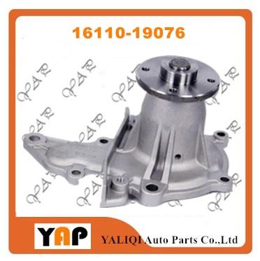 Bomba de refrigerante de motor automotriz para Toyota CARINA II COROLLA AT175 AT171 4AFE 1.6L L4 16110-19076 1984-1993