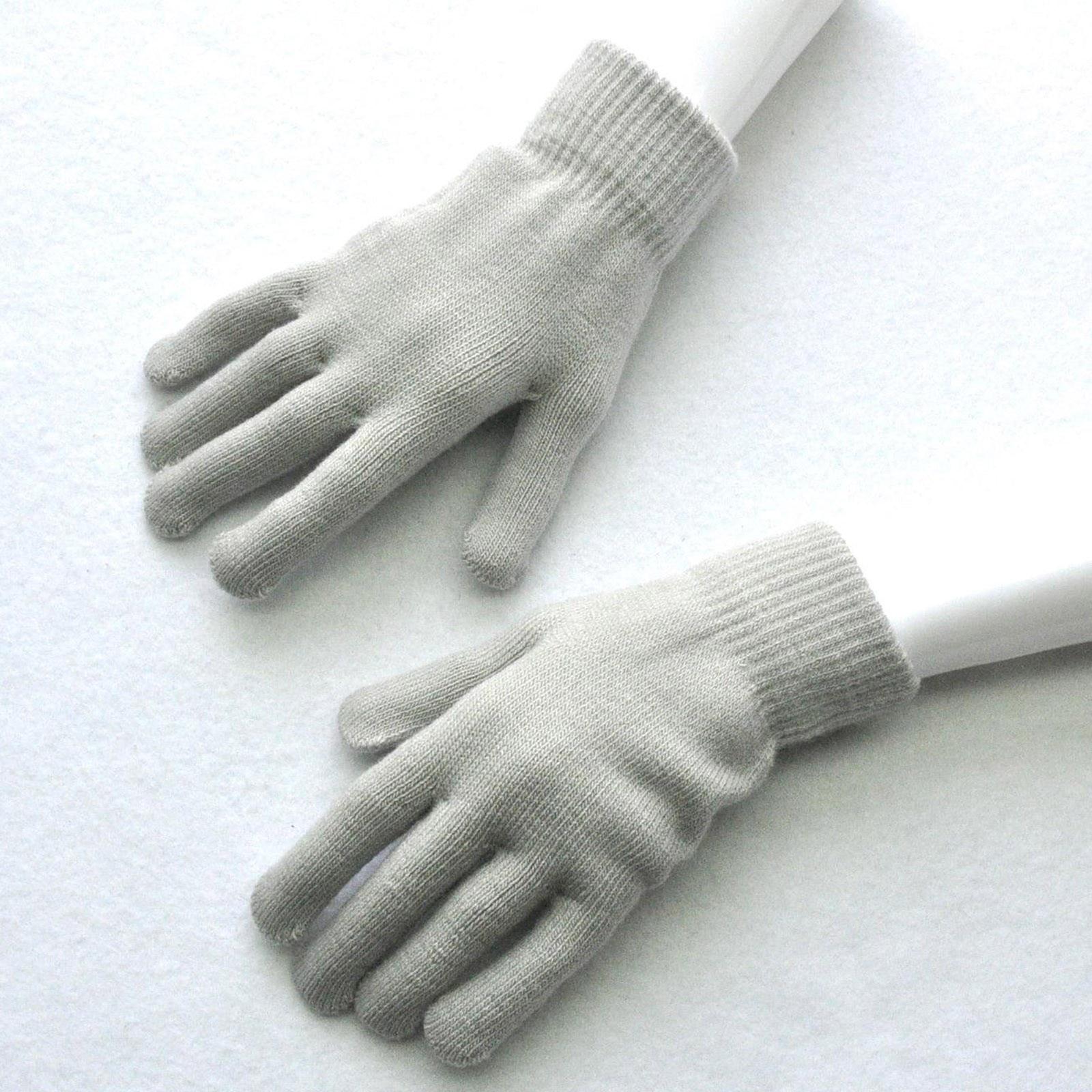 Зимние перчатки, варежки с закрытыми пальцами, перчатки, зимние детские перчатки, женские теплые вязаные шерстяные перчатки, зимние теплые ...