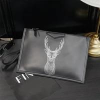 fashion fawn printing ipad bags for women handbag animal printed shoulder crossbody bag designer envelope bag clutch purse new
