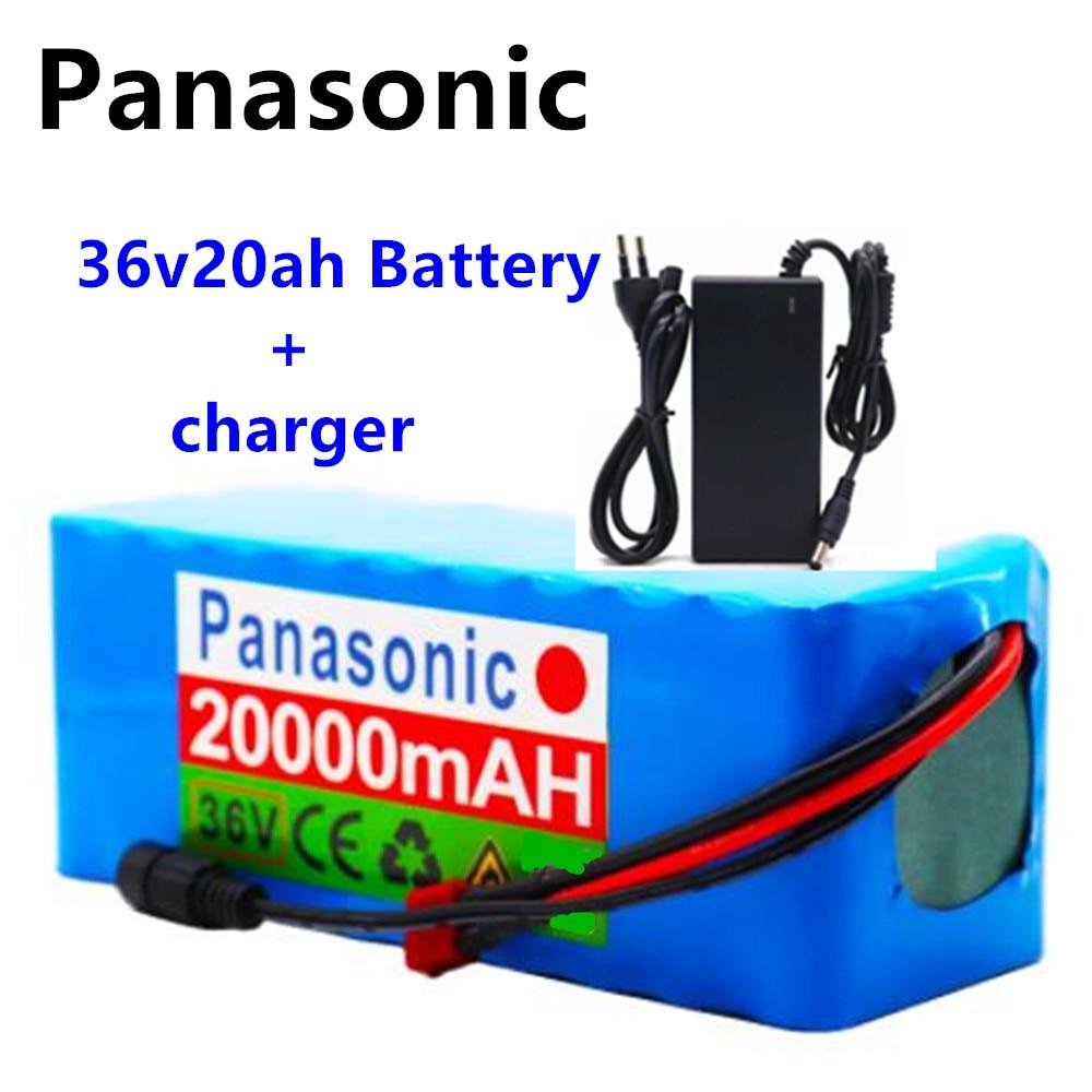 Panasonic е-байка 36В Батарея 10S4P 42 20Ah Батарея 500 Вт высокой мощности Мощность мА/ч, Батарея 20000V электрический велосипед Ebike Зарядное устройство БМС + 42В