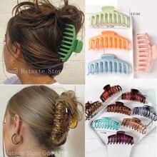 1 pz Clip di artigli per capelli coreani grande Barrette granchio artigli per capelli Clip da bagno Clip di coda di cavallo per donne ragazze copricapo accessori per capelli regalo