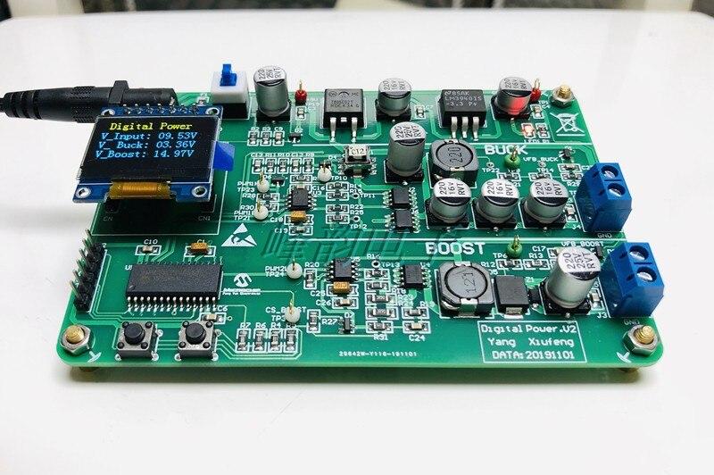 Microchip Placa de desarrollo de energía Digital DsPIC Placa de desarrollo DM330017-2