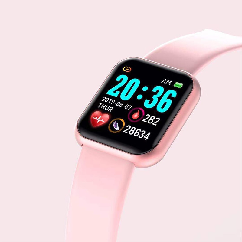 Korean Version Of The Smart Health Bracelet Pedometer Heart Rate Blood Pressure Monitoring Pedometer Sleep Color Screen Bracelet enlarge