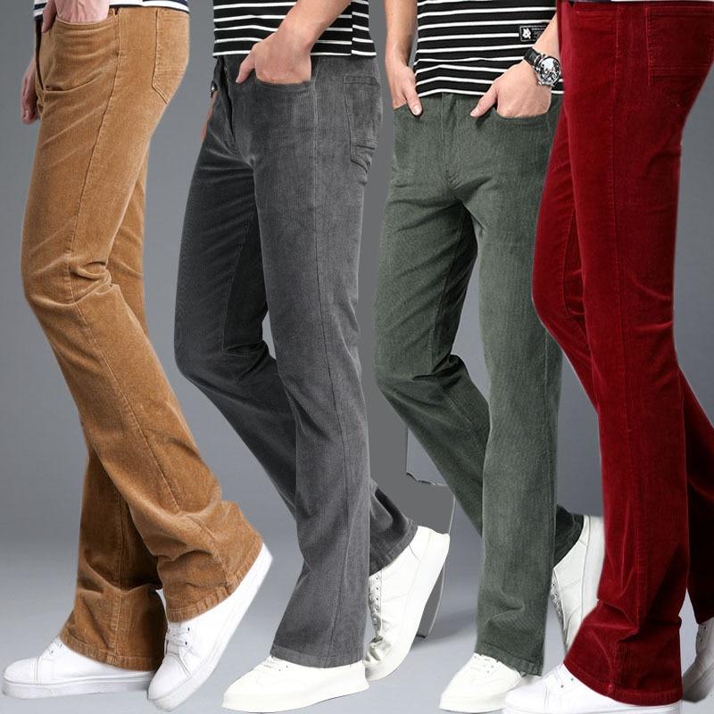 سروال قصير رجالي واسع ، بنطلون كلاسيكي واسع ، أسود ، أبيض ، كاكي ، خريف