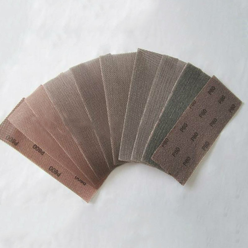 Сетчатые шлифовальные диски 93*230 мм, без пыли, с крючком-петлей, 80-1000 грит, для сухой шлифовки и полировки