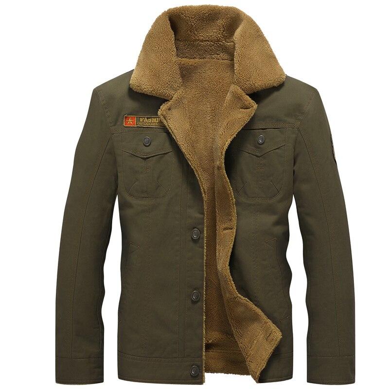 Chaqueta de invierno de los hombres de terciopelo grueso solapa uniforme abrigo otoño nuevo bombardero chaqueta de ropa de algodón de los hombres Jaqueta Masculina venta al por mayor 2019