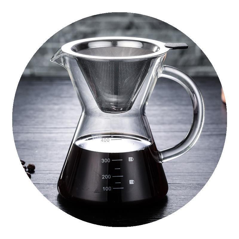 قطارة قهوة محمولة عالية الجودة من الفولاذ المقاوم للصدأ, مرشح قابل لإعادة الاستخدام ، وعاء تقطير القهوة الفيتنامي ، ماكينة صنع القهوة ، AB50CF