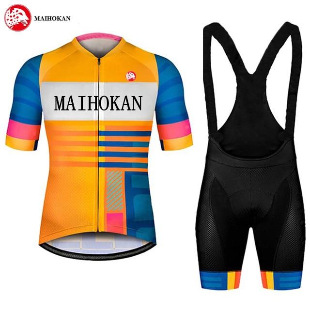 2021 Cycling Jersey Set Pro Team Cycling Clothing Maillot Cycling Clothes Bib Shorts Set Men Bike Ropa Ciclismo Bike Triathlon