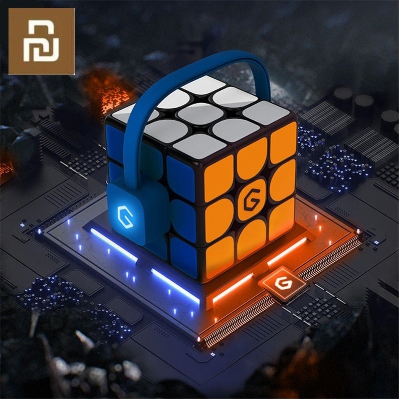 Puzle Original Youpin Giiker I3s AI, súper cubo inteligente, mágico, magnético, Bluetooth, APP Sync, juguetes [Versión de Actualización]