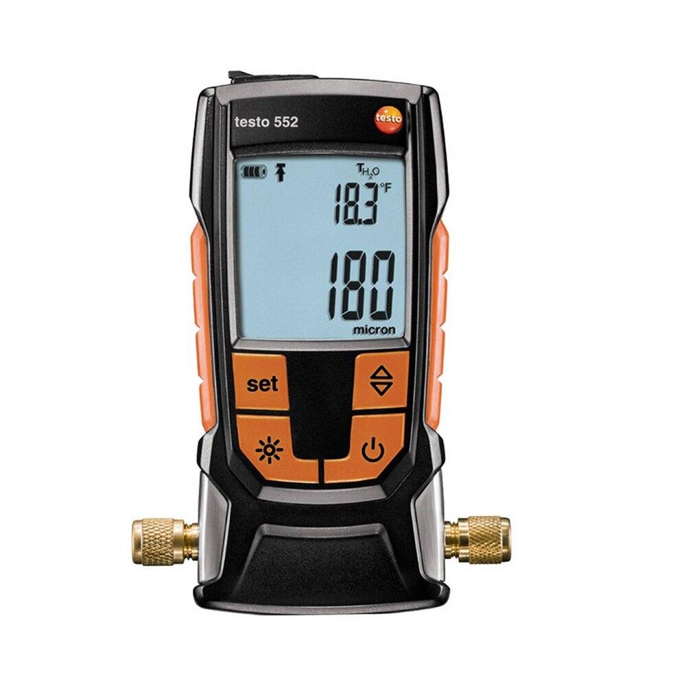 Refrigerador de ar Kit para Casa Testo Condicionado Refrigerante Freon Manifold Medidor Pressão ar Bluetooth Digital Tester Ferramenta 552
