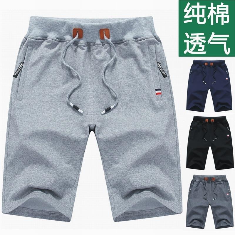 Брюки-Капри мужские хлопковые в пятиконечном стиле, модные повседневные спортивные штаны, большие повседневные брюки-Капри с перекрещиваю... missoni брюки капри